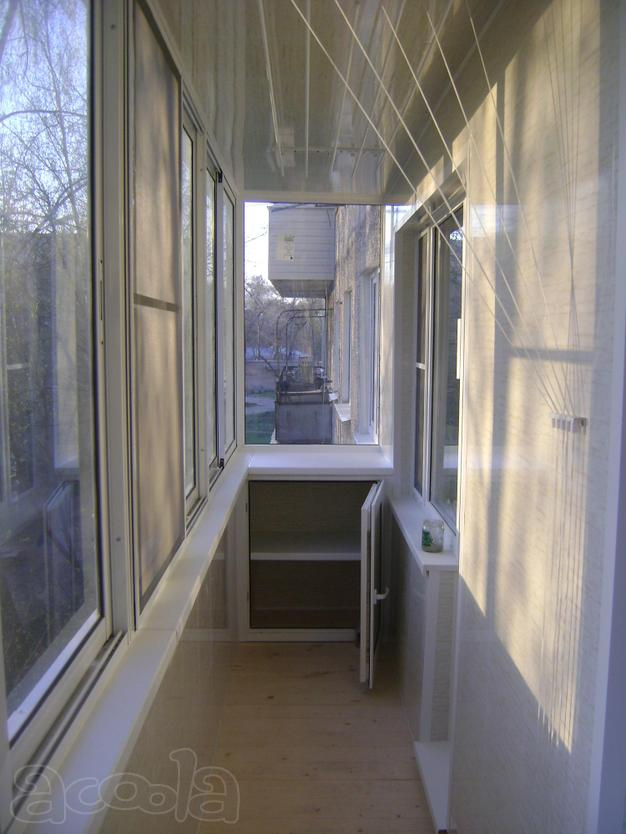 Остекление балконов и лоджий..