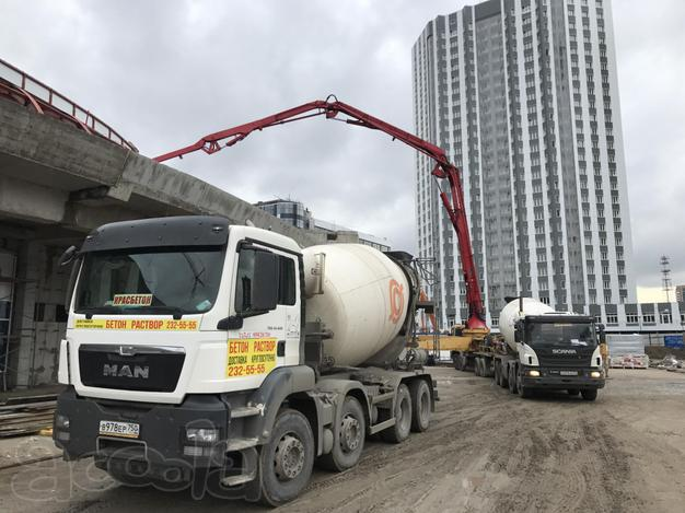 бетон и раствор москва